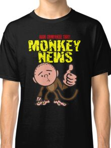 Karl Pilkington - Monkey News Classic T-Shirt