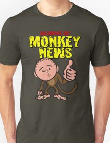 Karl Pilkington - Monkey News T-Shirt