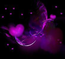 Purple Hearts by Ingrid Funk