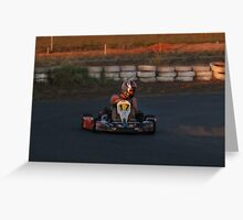 go-carts in Port Hedlands WA Greeting Card