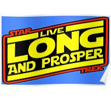 Live Long & Prosper Strikes Back Poster
