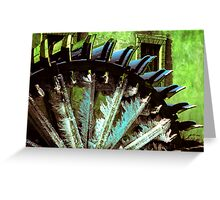 Icicle roundabout Greeting Card