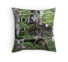 Stabbed to Death Throw Pillow