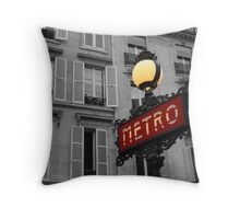 Never forget Paris... Throw Pillow