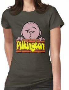 Karl Pilkington - Peeking Pilkington Womens Fitted T-Shirt
