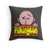 Karl Pilkington - Peeking Pilkington Throw Pillow
