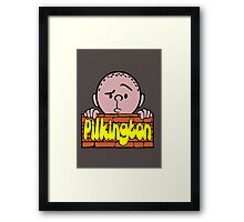 Karl Pilkington - Peeking Pilkington Framed Print