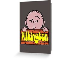 Karl Pilkington - Peeking Pilkington Greeting Card