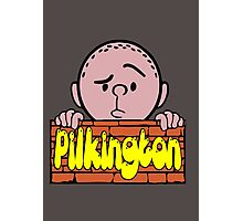 Karl Pilkington - Peeking Pilkington Photographic Print