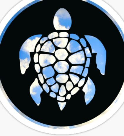 Sky Turtle Sticker