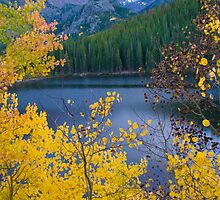 Longs Peak and Fall Colors by Paul Gana