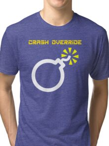 Crash Override Tri-blend T-Shirt