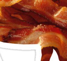 Tasty Bacon Pig Sticker