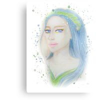 Elf Girl 2 Canvas Print