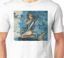 pin up - siren lowar ocean Unisex T-Shirt