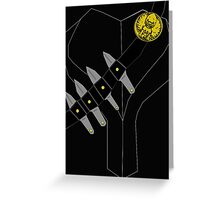 Talon Costume Greeting Card