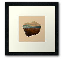 Eroded Composition | One Framed Print