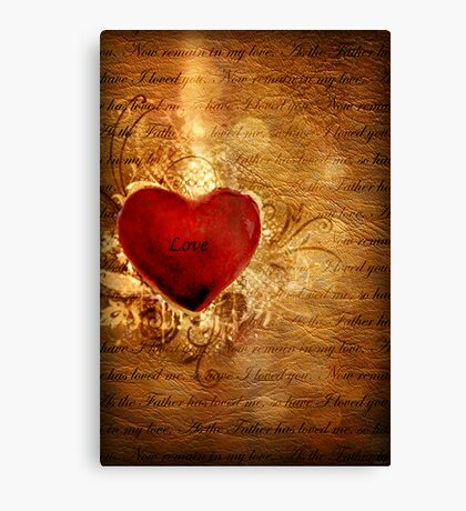 Love Conquers All Canvas Print