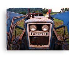 Ford and Coca Cola Canvas Print