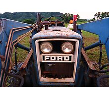 Ford and Coca Cola Photographic Print