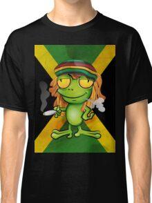 Rastafarian frog cartoon Classic T-Shirt