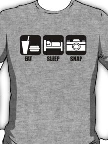 Eat Sleep Snap T-Shirt
