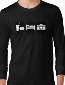 Eat Sleep Snap Long Sleeve T-Shirt