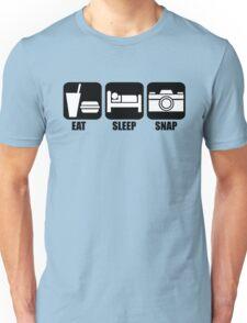 Eat Sleep Snap Unisex T-Shirt