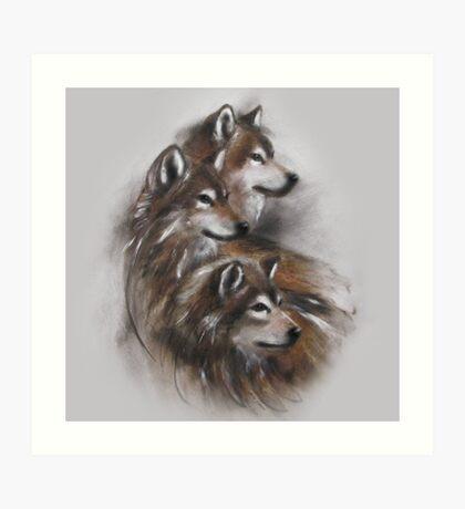 wolf wolves animals,wildlife,wildlife art,nature Art Print