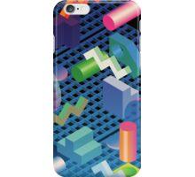 digital landscape i  iPhone Case/Skin