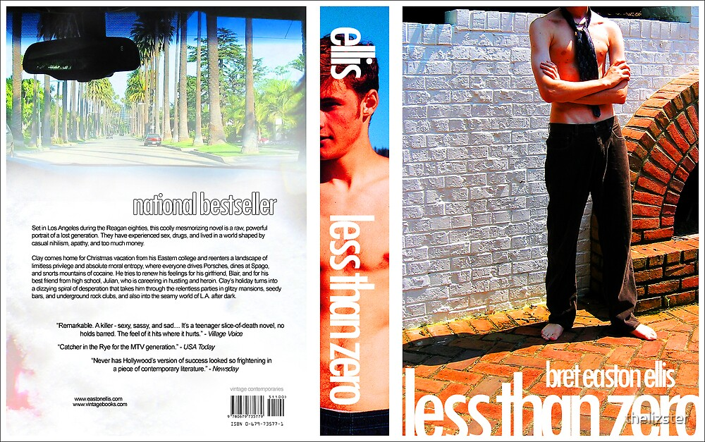 Less Than Zero - book by thelizster