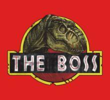 T-Rex the Boss One Piece - Short Sleeve