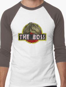 T-Rex the Boss Men's Baseball ¾ T-Shirt