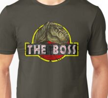 T-Rex the Boss Unisex T-Shirt