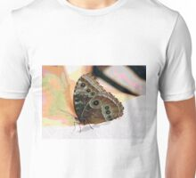 Butterfly Oil Pastel Unisex T-Shirt