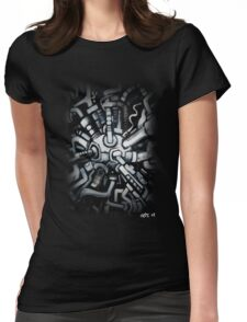 Pipes Womens Fitted T-Shirt