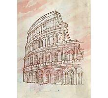roman colosseum  Photographic Print
