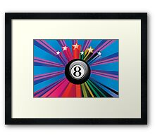Eight Ball 2 Framed Print