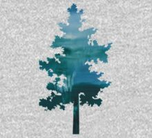 Through the Veil - Abstract Tree Art Kids Clothes