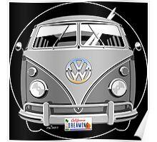 VW split-screen bus Poster
