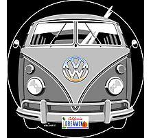 VW split-screen bus Photographic Print