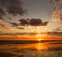 Sunset at 13th Beach by Hans Kawitzki