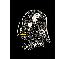 inked vader Photographic Print