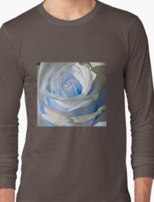 White rose and drops 3 Long Sleeve T-Shirt