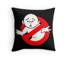 Karl Pilkington - RockBusters Throw Pillow