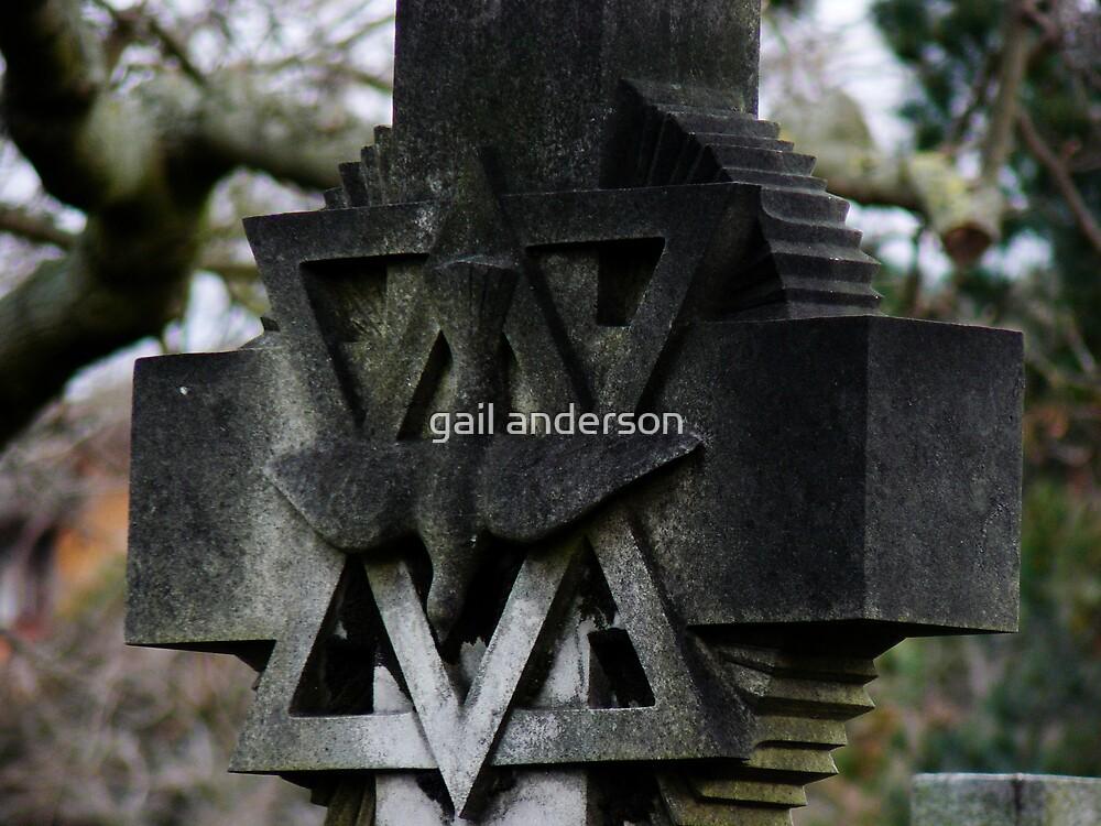 Cross in Brompton by gail anderson
