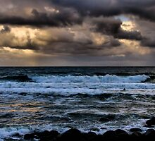 Storm out to Sea  by Nickie