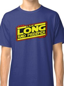 Live Long & Prosper Strikes Back Classic T-Shirt