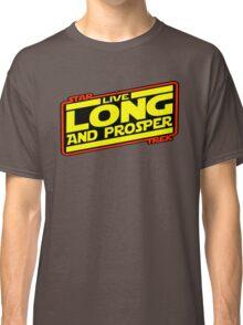 Live Long & Prosper Strikes Back Classic T-Shirt
