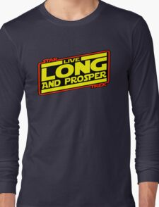 Live Long & Prosper Strikes Back Long Sleeve T-Shirt
